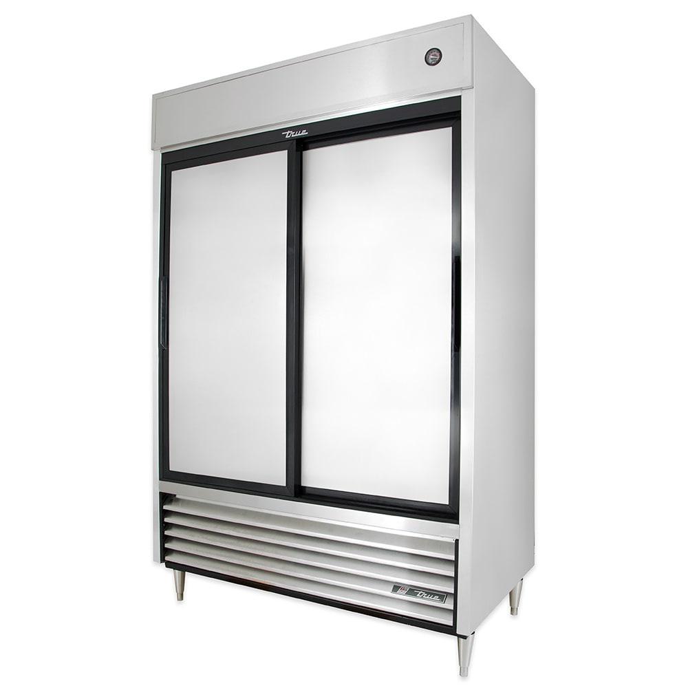 """True TSD-47-HC 54"""" Two Section Reach-In Refrigerator, (2) Solid Door, 115v"""
