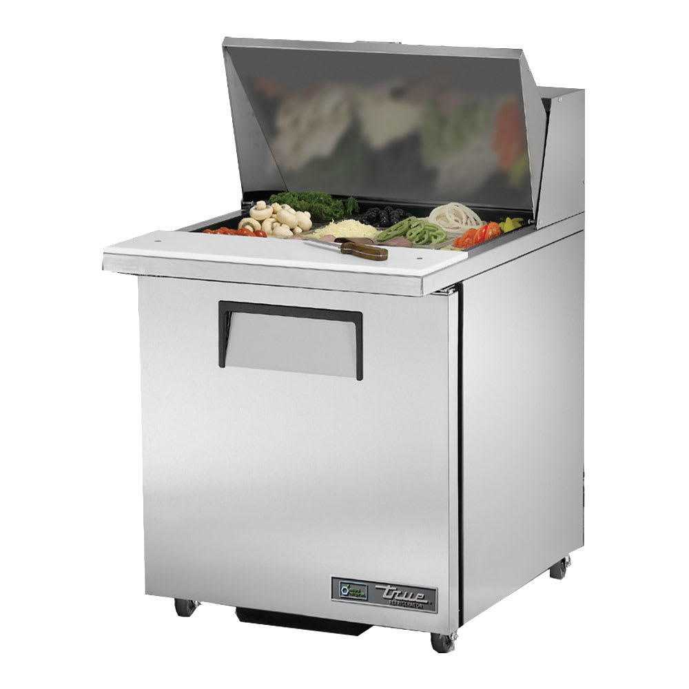 "True TSSU-27-12M-B-ADA-HC LH 27.63"" Sandwich/Salad Prep Table w/ Refrigerated Base, 115v"