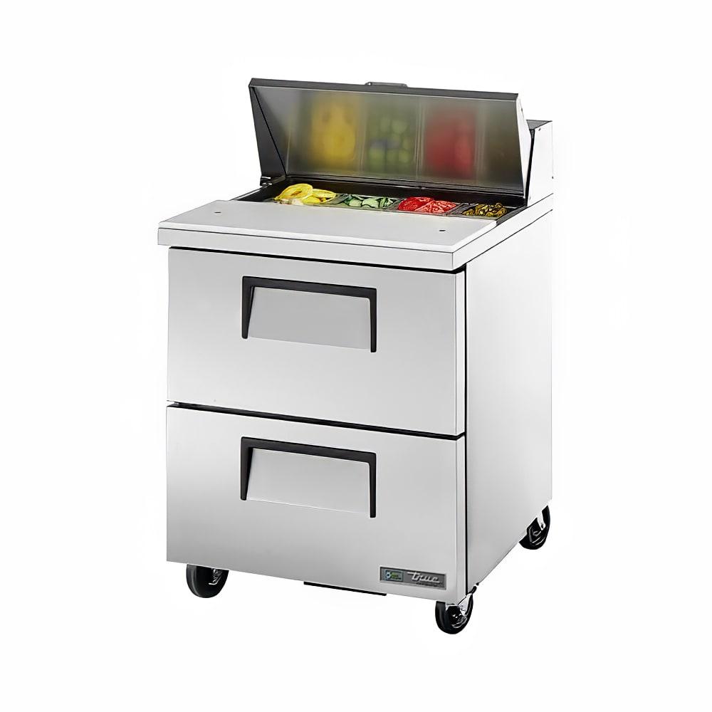 """True TSSU-27-08D-2-ADA-HC 27"""" Sandwich/Salad Prep Table w/ Refrigerated Base, 115v"""