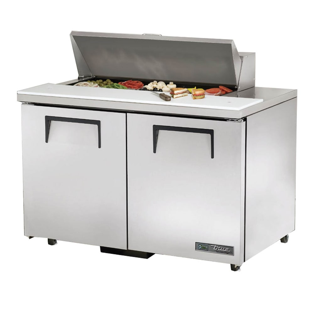 "True TSSU-48-10-ADA-HC 48"" Sandwich/Salad Prep Table w/ Refrigerated Base, 115v"