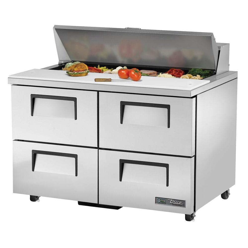 """True TSSU-48-12D-4-ADA-HC 48.38"""" Sandwich/Salad Prep Table w/ Refrigerated Base, 115v"""