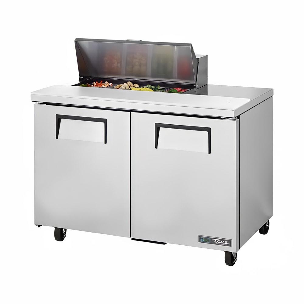 """True TSSU-48-08-ADA-HC 48"""" Sandwich/Salad Prep Table w/ Refrigerated Base, 115v"""