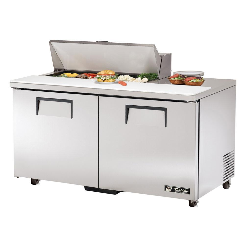 """True TSSU-60-10-ADA-HC 60"""" Sandwich/Salad Prep Table w/ Refrigerated Base, 115v"""