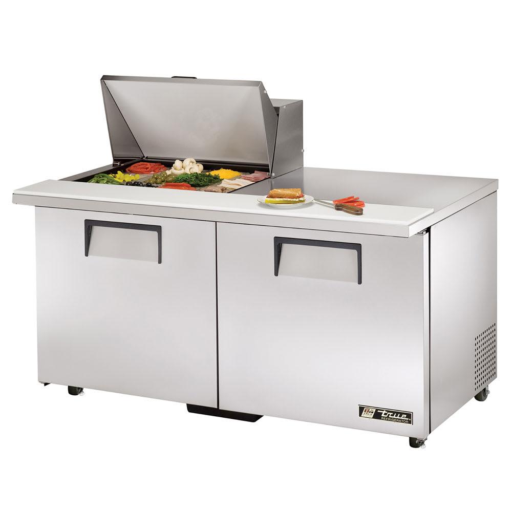 """True TSSU-60-12M-B-ADA-HC 60"""" Sandwich/Salad Prep Table w/ Refrigerated Base, 115v"""