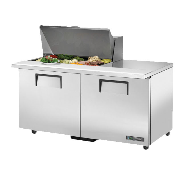 "True TSSU-60-15M-B-ADA-HC 60"" Sandwich/Salad Prep Table w/ Refrigerated Base, 115v"