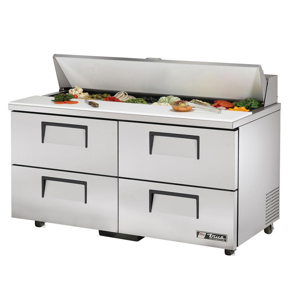 """True TSSU-60-16D-4-ADA-HC 60"""" Sandwich/Salad Prep Table w/ Refrigerated Base, 115v"""