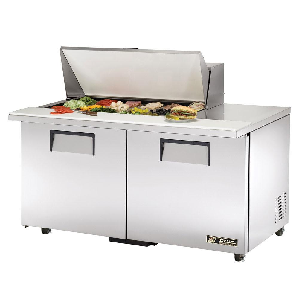 """True TSSU-60-18M-B-ADA-HC 60"""" Sandwich/Salad Prep Table w/ Refrigerated Base, 115v"""