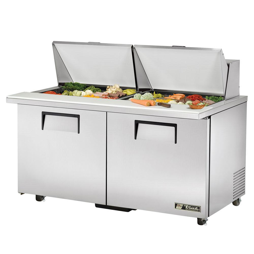 """True TSSU-60-24M-B-ST-ADA-HC 60"""" Sandwich/Salad Prep Table w/ Refrigerated Base, 115v"""