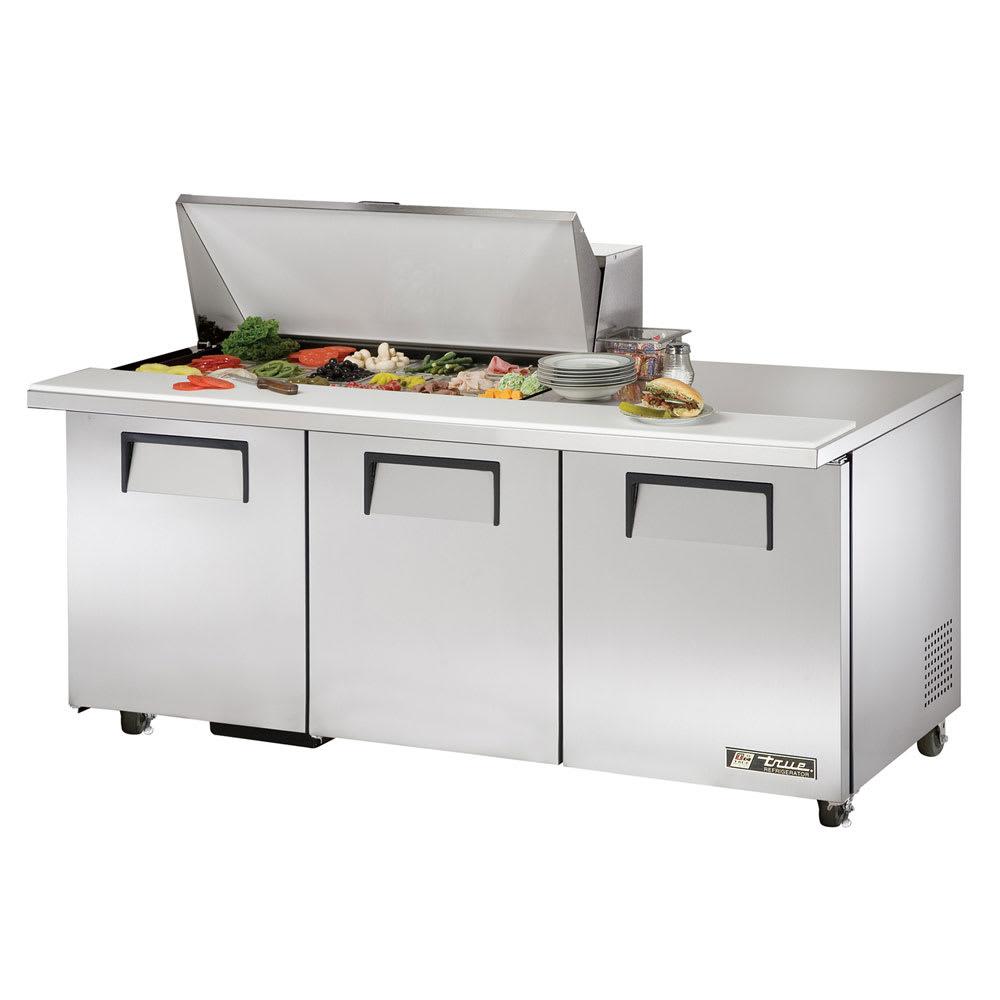 """True TSSU-72-18M-B-ADA-HC 72"""" Sandwich/Salad Prep Table w/ Refrigerated Base, 115v"""