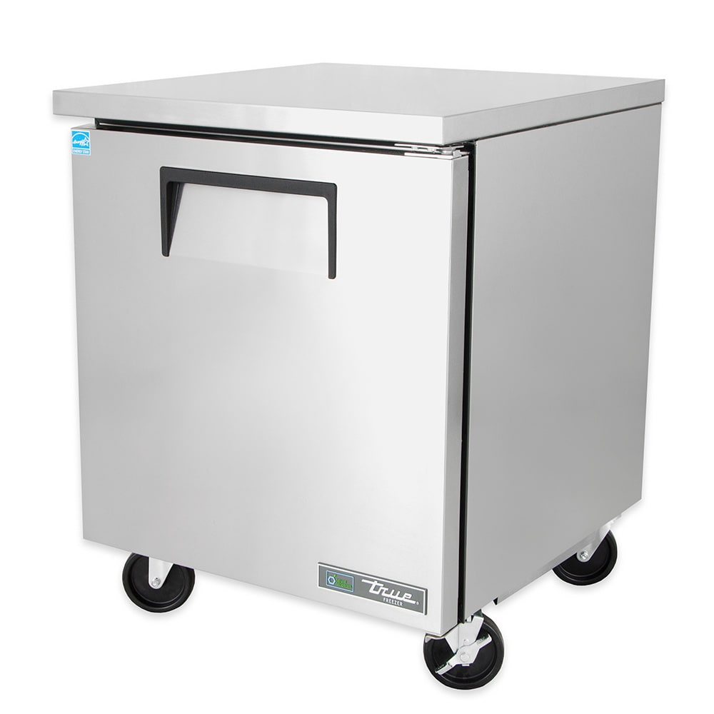 True TUC-27F-HC 6.5 cu ft Undercounter Freezer w/ (1) Section & (1) Right Hinge Door, 115v