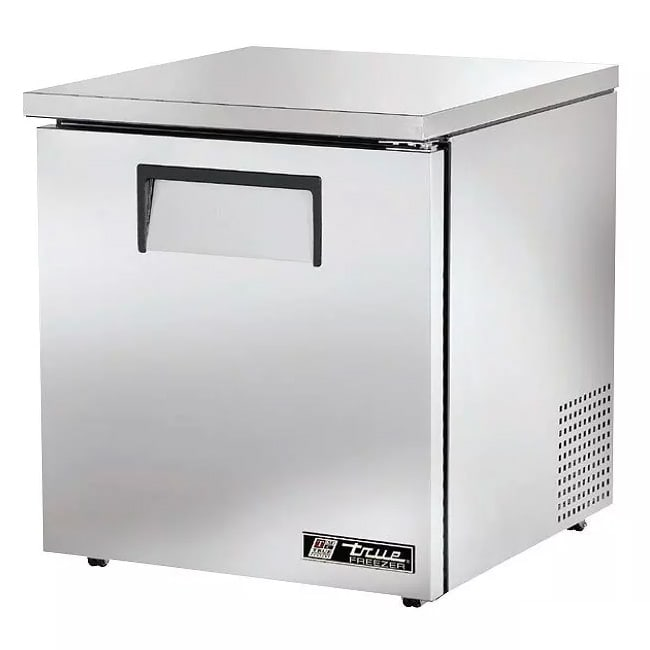 True TUC-27F-LP-HC 6.5-cu ft Undercounter Freezer w/ (1) Section & (1) Door, 115v