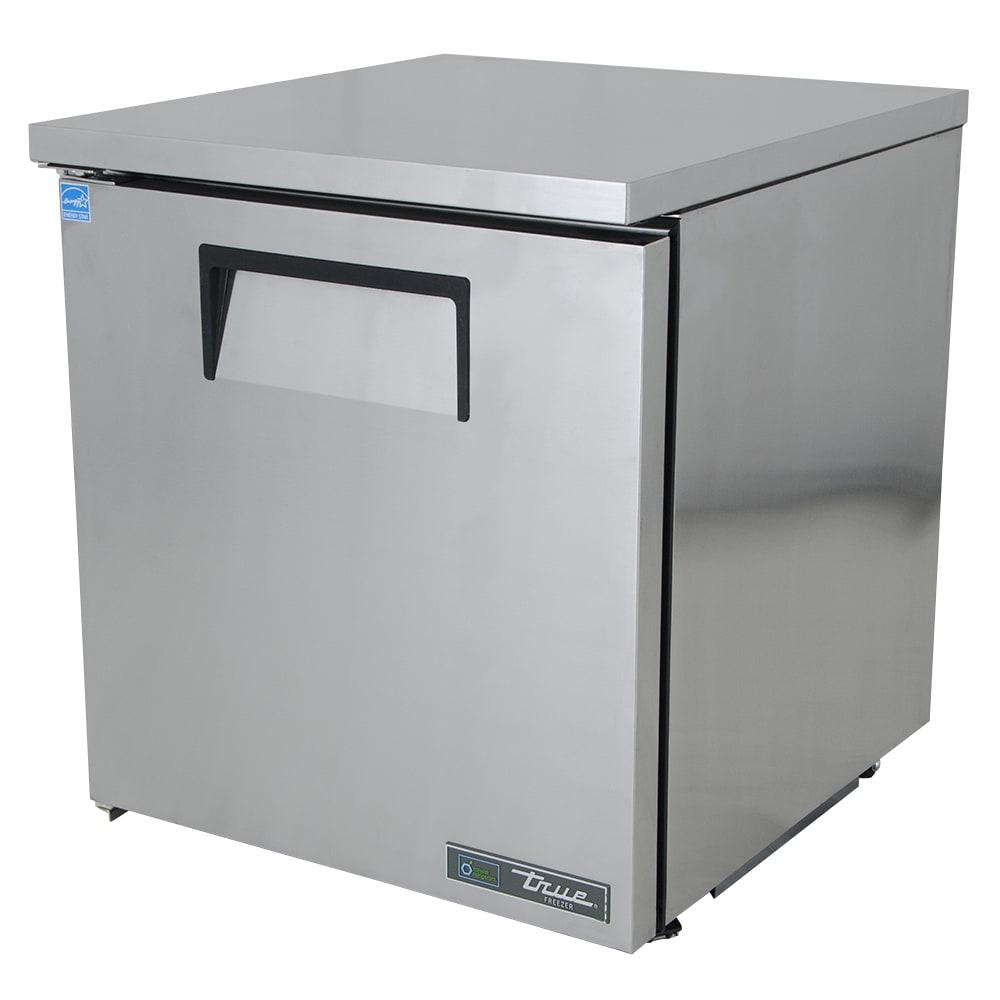 True TUC-27F-LP-HC 6.5 cu ft Undercounter Freezer w/ (1) Section & (1) Door, 115v
