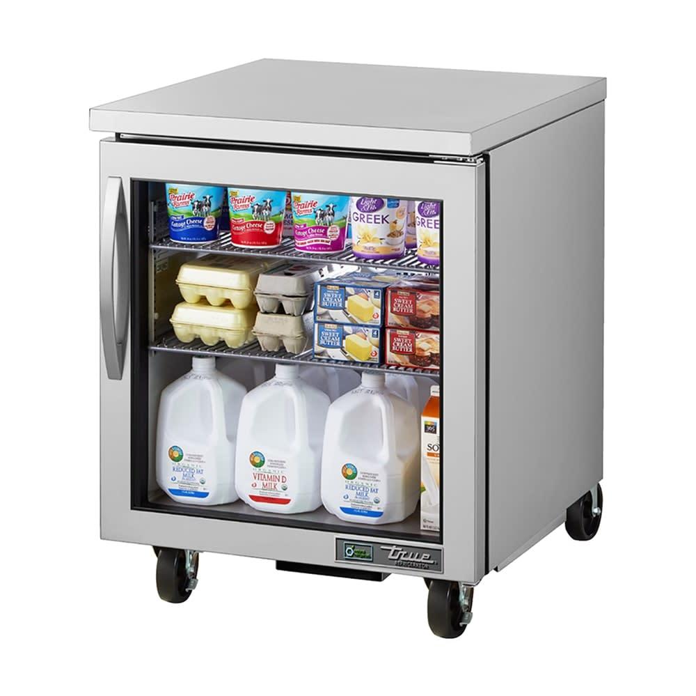 True TUC-27G-HC~FGD01 6.5-cu ft Undercounter Refrigerator w/ (1) Section & (1) Door, 115v