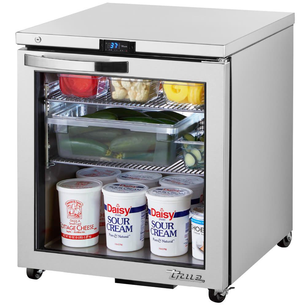 True TUC-27G-ADA-HC-LD~SPEC1 6.5-cu ft Undercounter Refrigerator w/ (1) Section & (1) Door, 115v
