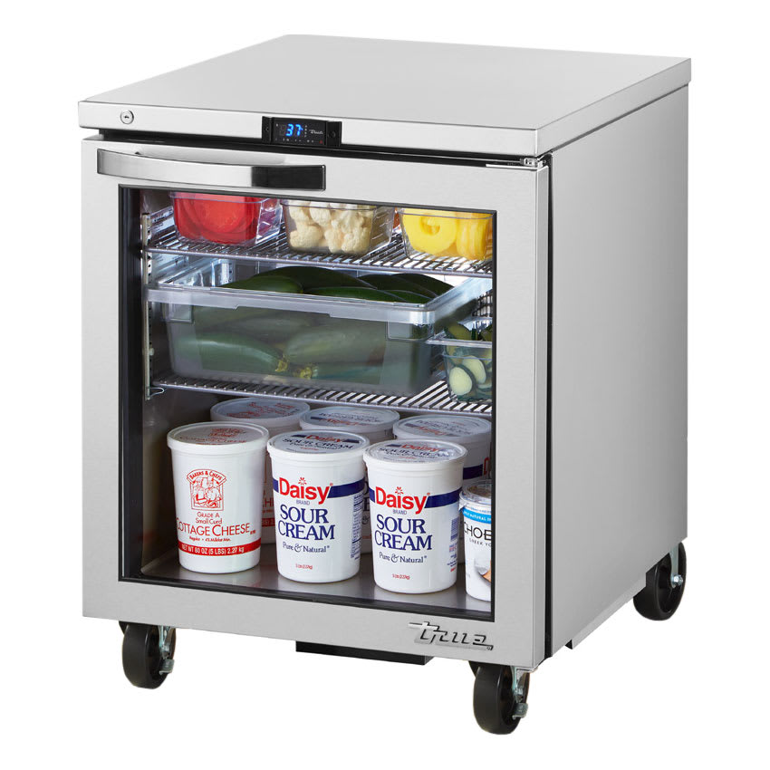 True TUC-27G-HC~SPEC1 6.5 cu ft Undercounter Refrigerator w/ (1) Section & (1) Door, 115v