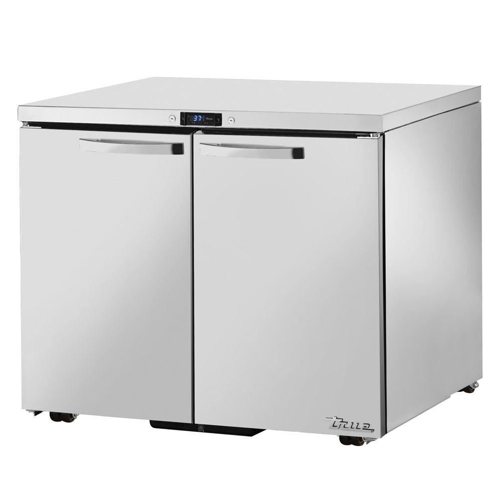 True TUC-36-LP-HC~SPEC1 8.5-cu ft Undercounter Refrigerator w/ (2) Sections & (2) Doors, 115v