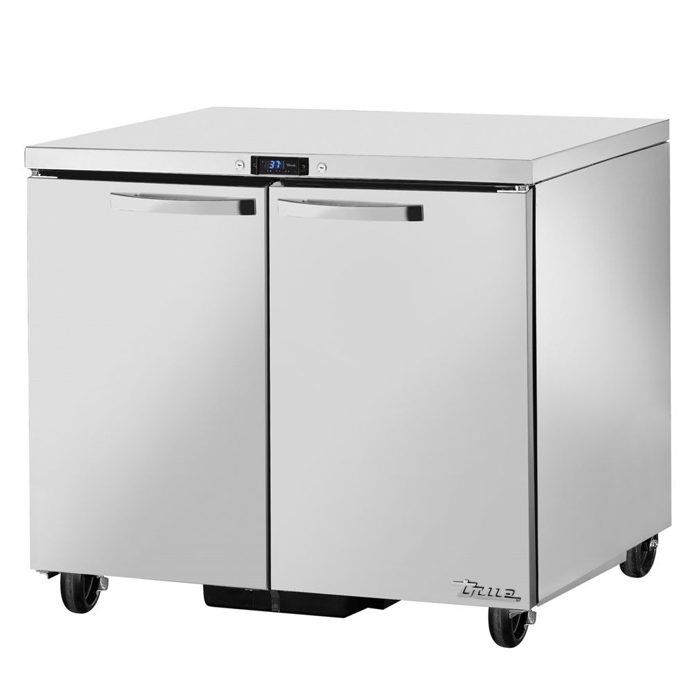 True TUC-36-HC~SPEC1 8.5 cu ft Undercounter Refrigerator w/ (2) Sections & (2) Doors, 115v
