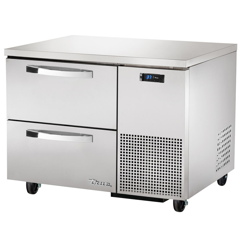True TUC-44D-2~SPEC1 11.4 cu ft Undercounter Refrigerator w/ (1) Section & (2) Drawers, 115v