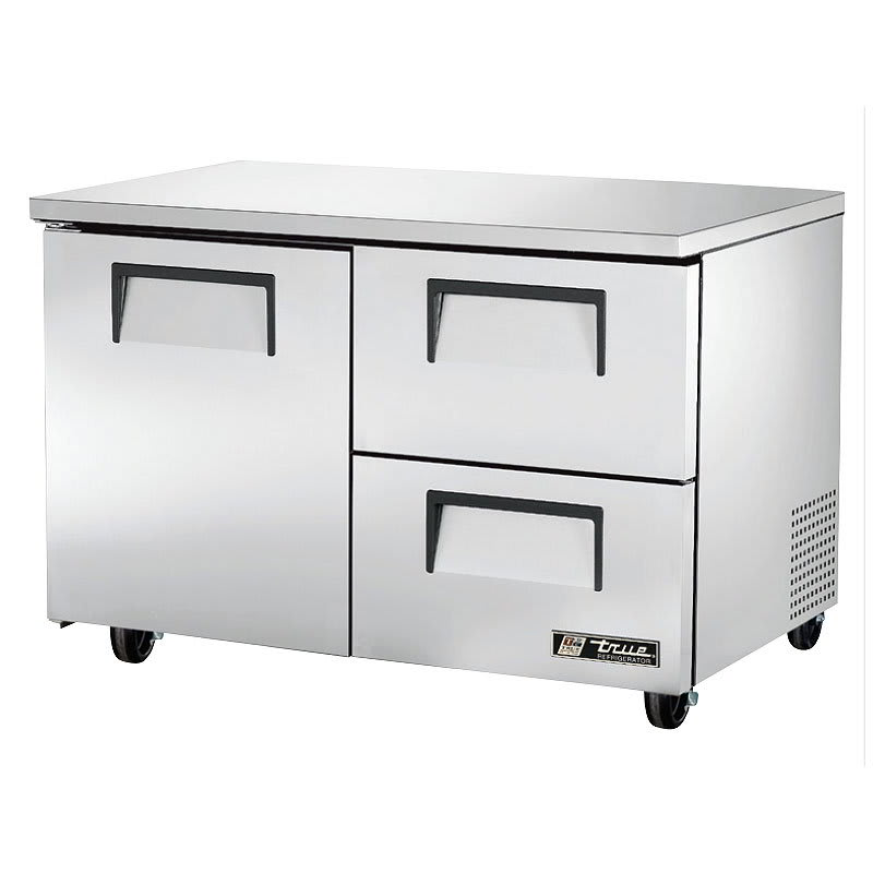True TUC-48D-2-HC 12 cu ft Undercounter Refrigerator w/ (2) Sections, (2) Drawers & (1) Door, 115v