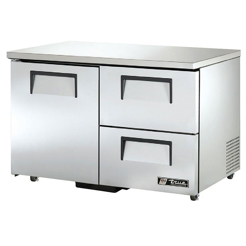 True TUC-48D-2-ADA-HC 12 cu ft Undercounter Refrigerator w/ (2) Sections, (2) Drawers & (1) Door, 115v