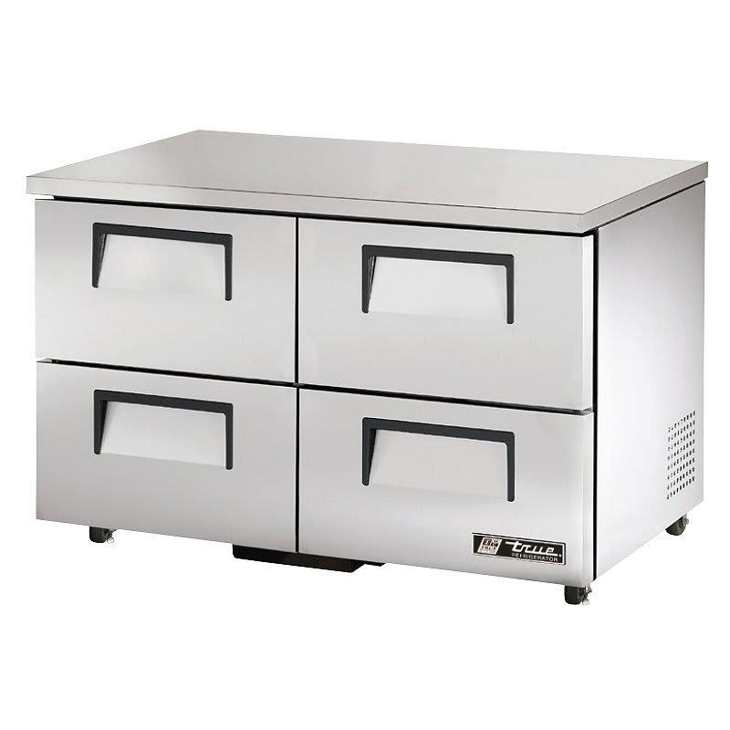 True TUC-48D-4-ADA-HC 12 cu ft Undercounter Refrigerator w/ (2) Sections & (4) Drawers, 115v