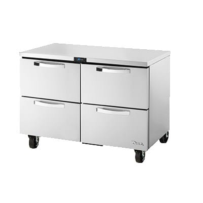 True TUC-48D-4-HC~SPEC1 12-cu ft Undercounter Refrigerator w/ (2) Sections & (4) Drawers, 115v