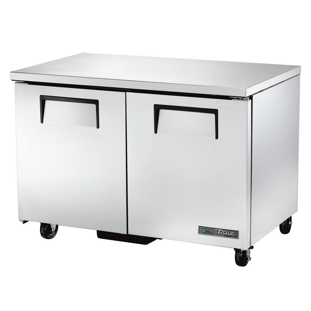 True TUC-48F-HC 12-cu ft Undercounter Freezer w/ (2) Sections & (2) Doors, 115v