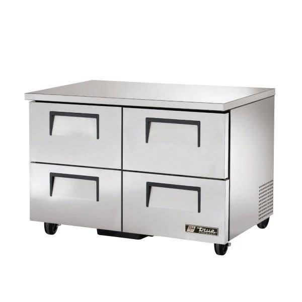 True TUC-48F-D-4-HC 12-cu ft Undercounter Freezer w/ (4) Sections & (4) Drawers, 115v