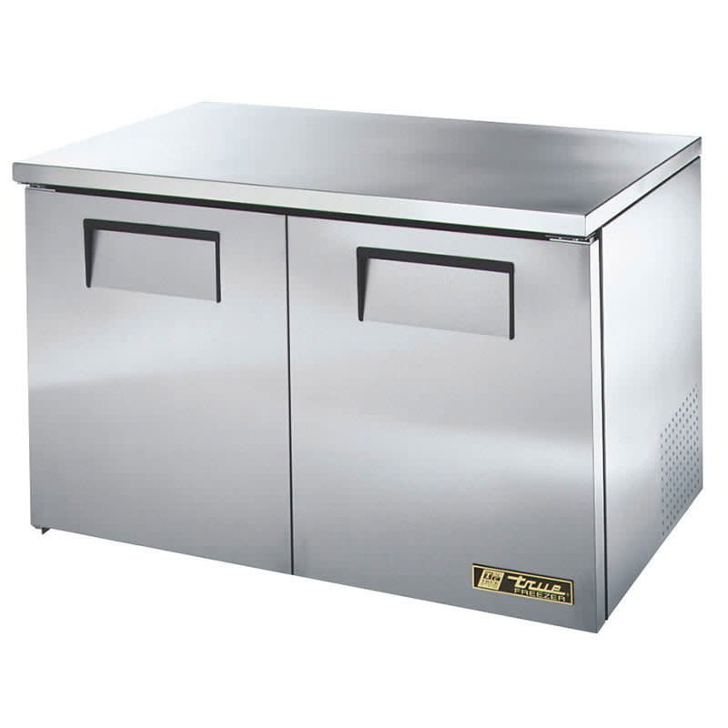 True TUC-48F-LP-HC 12 cu ft Undercounter Freezer w/ (2) Sections & (2) Doors, 115v