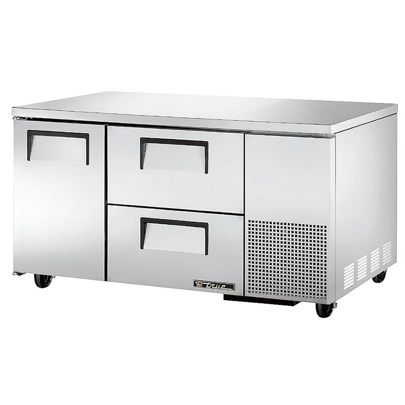 True TUC-60-32D-2 15.9 cu ft Undercounter Refrigerator w/ (2) Sections, (2) Drawers & (1) Door, 115v
