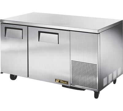 True TUC-60-32F-HD 15.9-cu ft Undercounter Freezer w/ (2) Sections & (2) Doors, 115v