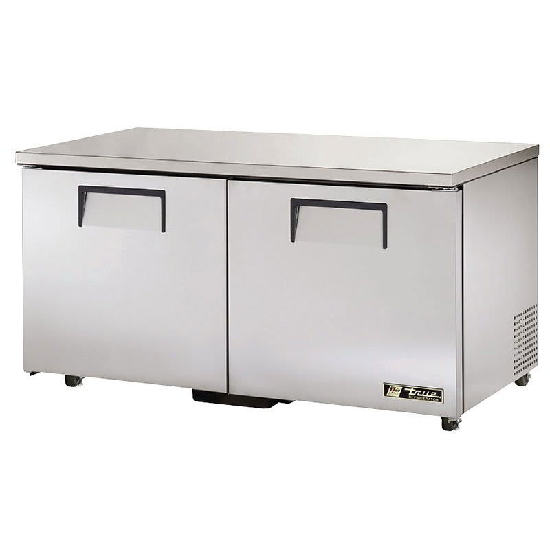 True TUC-60-ADA-HC 15.5-cu ft Undercounter Refrigerator w/ (2) Sections & (2) Doors, 115v