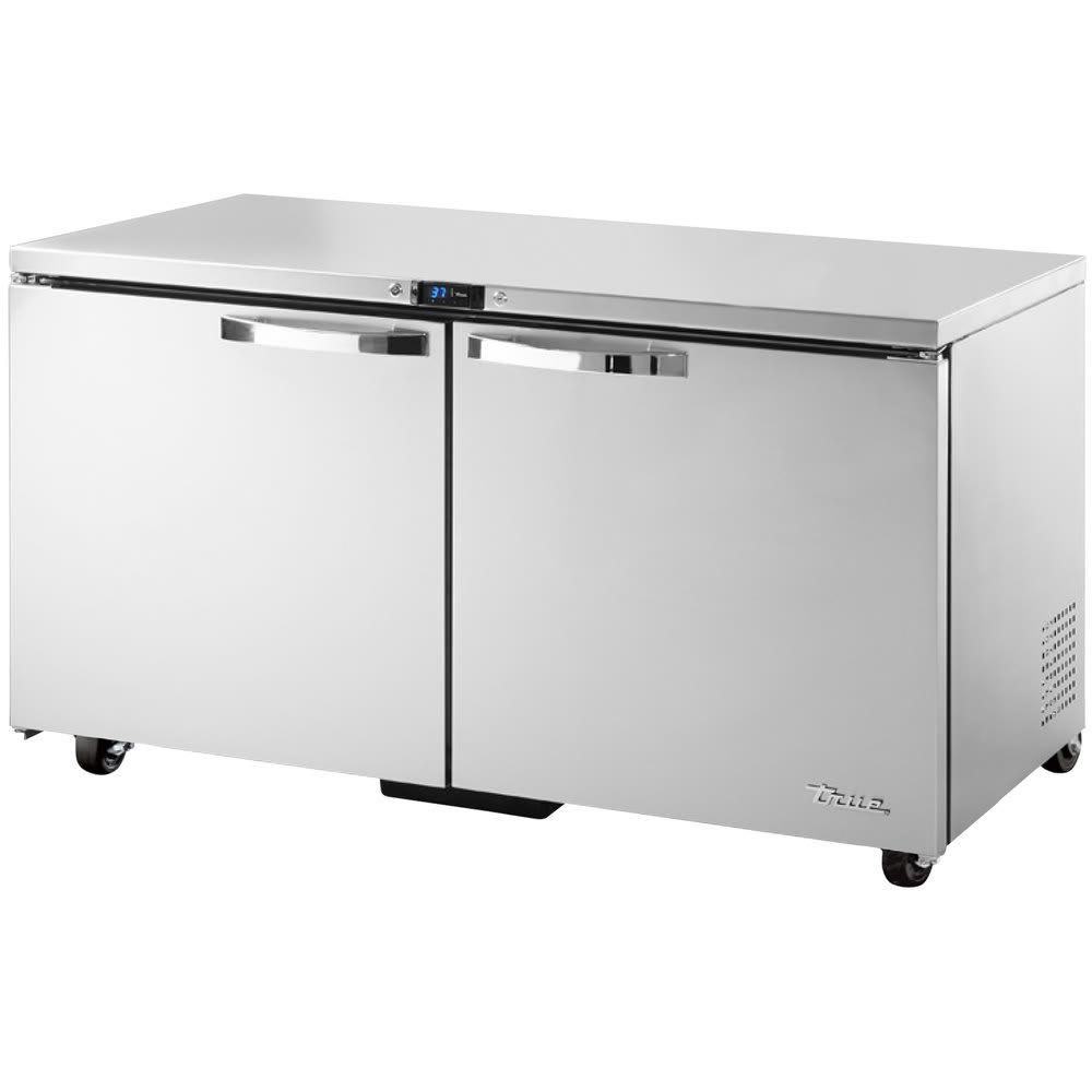 True TUC-60-ADA-HC~SPEC1 15.5 cu ft Undercounter Refrigerator w/ (2) Sections & (2) Doors, 115v