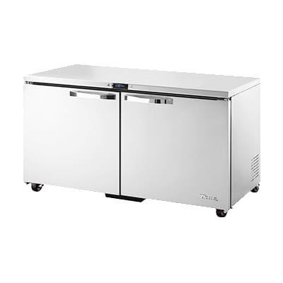 True TUC-60F-ADA-HC~SPEC1 15.5-cu ft Undercounter Freezer w/ (2) Sections & (2) Doors, 115v