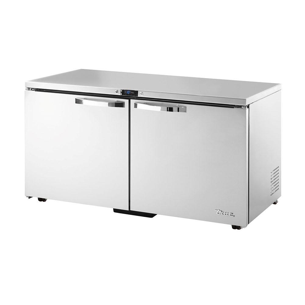 True TUC-60F-LP-HC~SPEC1 15.5 cu ft Undercounter Freezer w/ (2) Sections & (2) Doors, 115v