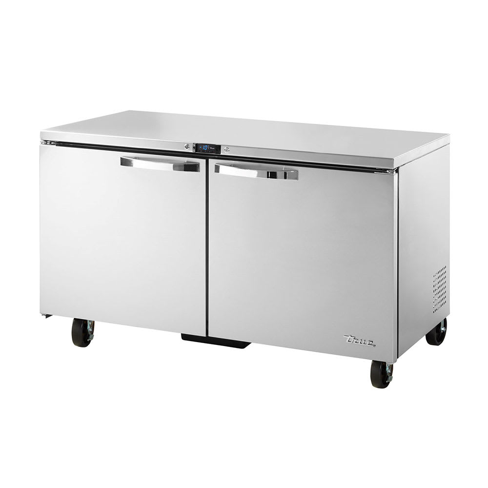 True TUC-60F-HC~SPEC1 15.5-cu ft Undercounter Freezer w/ (2) Sections & (2) Doors, 115v