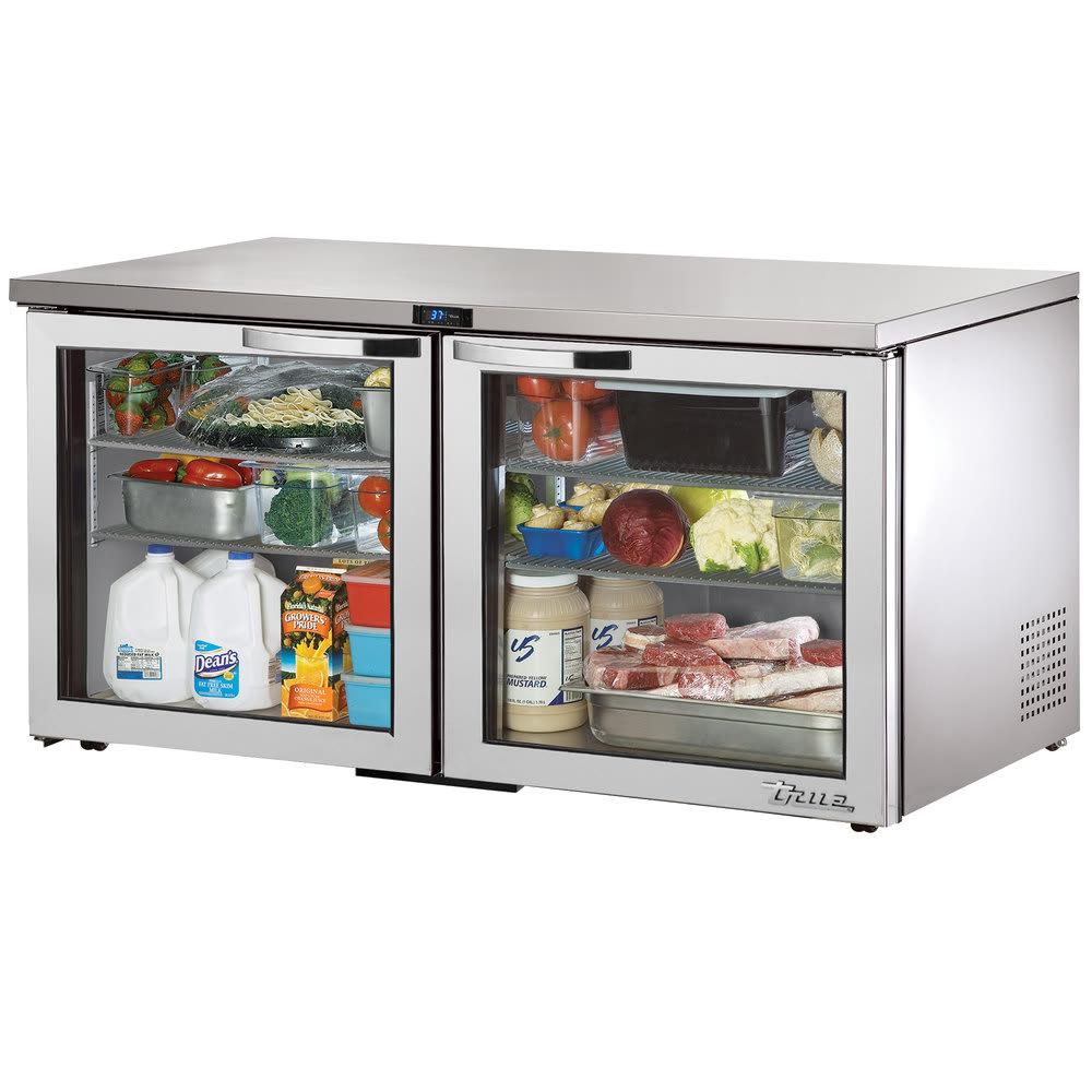 True TUC-60G-LP-HC~SPEC1 15.5 cu ft Undercounter Refrigerator w/ (2) Sections & (2) Doors, 115v