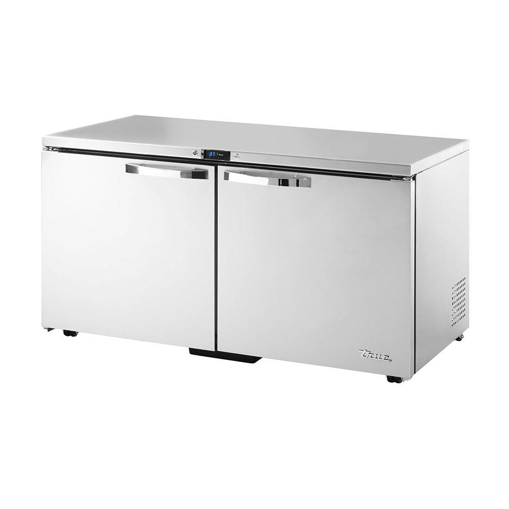 True TUC-60-LP-HC~SPEC1 15.5-cu ft Undercounter Refrigerator w/ (2) Sections & (2) Doors, 115v