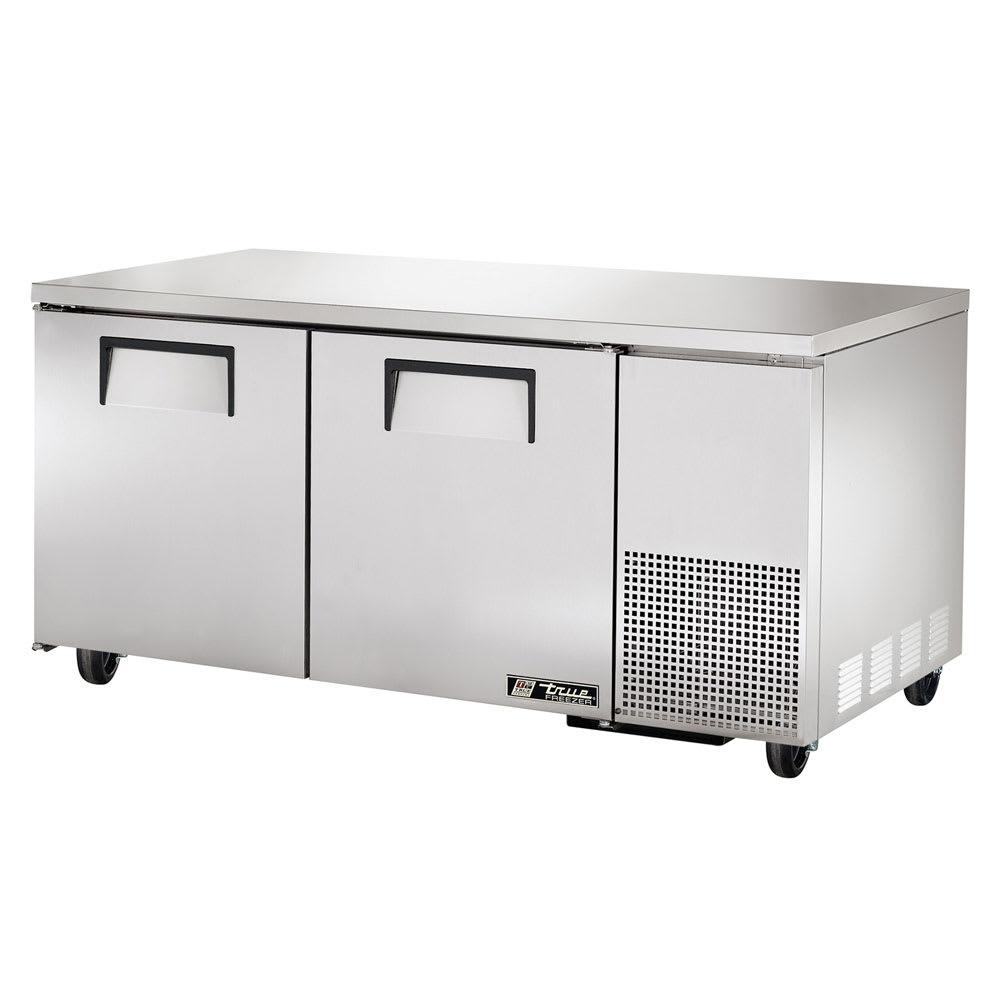 True TUC-67~SPEC1 20.6-cu ft Undercounter Refrigerator w/ (2) Sections & (2) Doors, 115v