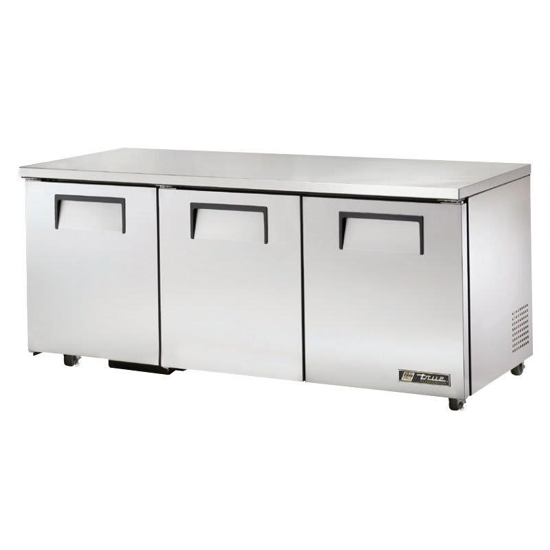 True TUC-72-ADA-HC 19 cu ft Undercounter Refrigerator w/ (3) Sections & (3) Doors, 115v