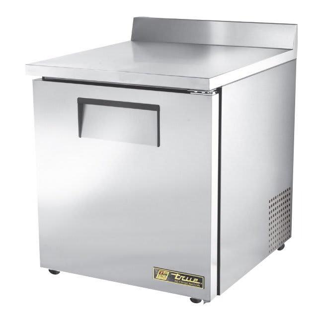 "True TWT-27-ADA-HC 27.63"" Work Top Refrigerator w/ (1) Section, 115v"