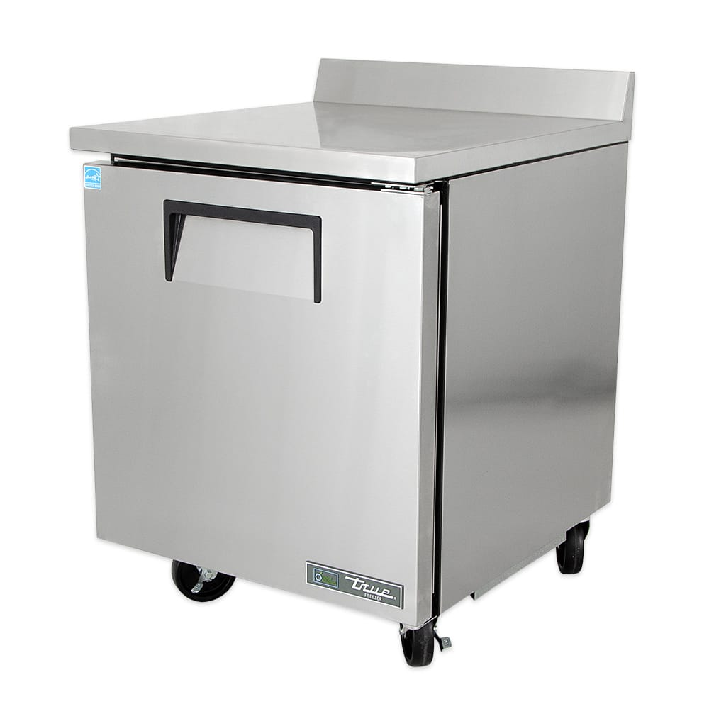 True TWT-27F-HC 6.5 cu ft Worktop Freezer w/ (1) Section & (1) Right Hinge Door, 115v