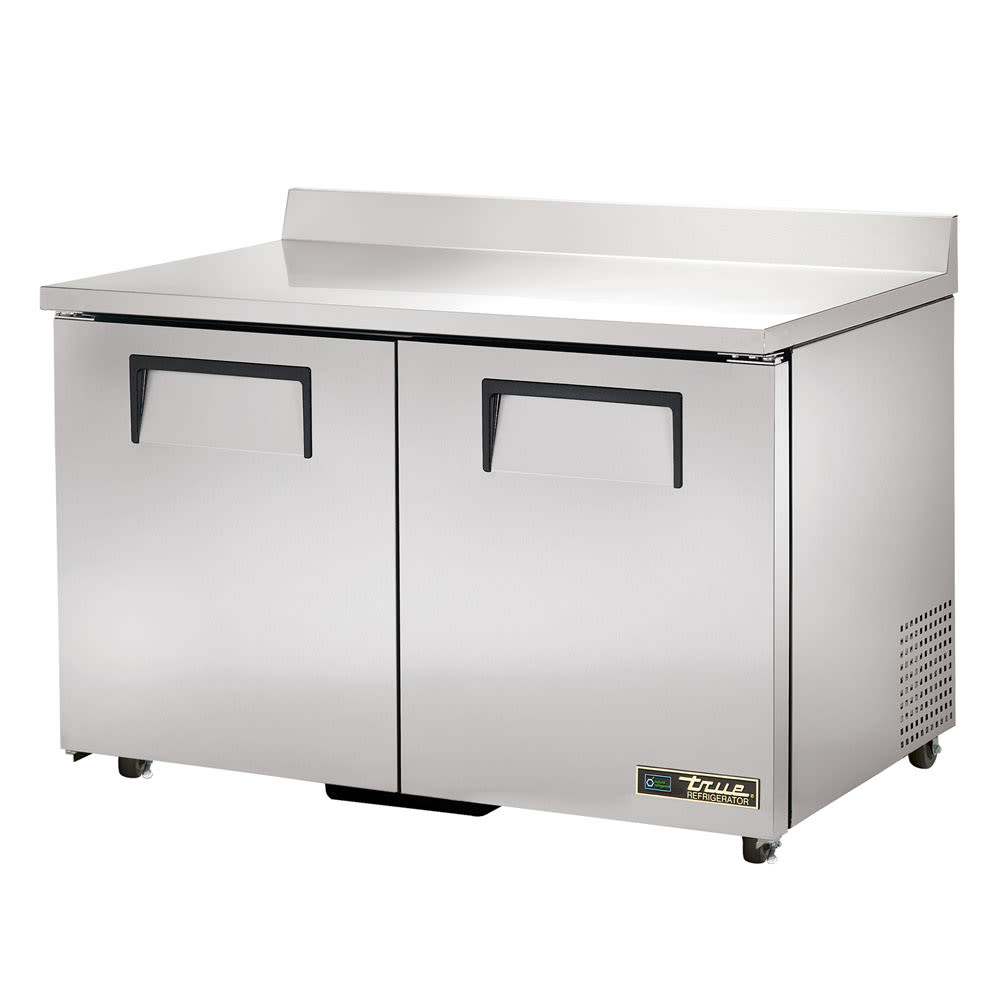 "True TWT-48-ADA-HC 48"" Worktop Refrigerator w/ (2) Sections, 115v"