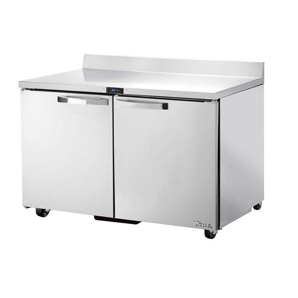 "True TWT-48-ADA-HC~SPEC1 48"" Work Top Refrigerator w/ (2) Sections & (2) Doors, 115v"