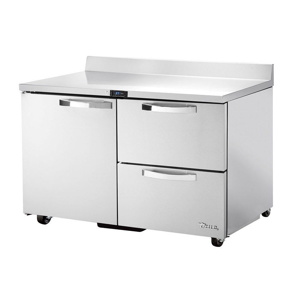 "True TWT-48D-2-ADA-HC~SPEC1 48"" Work Top Refrigerator w/ (2) Sections, (1) Door & (2) Drawers, 115v"