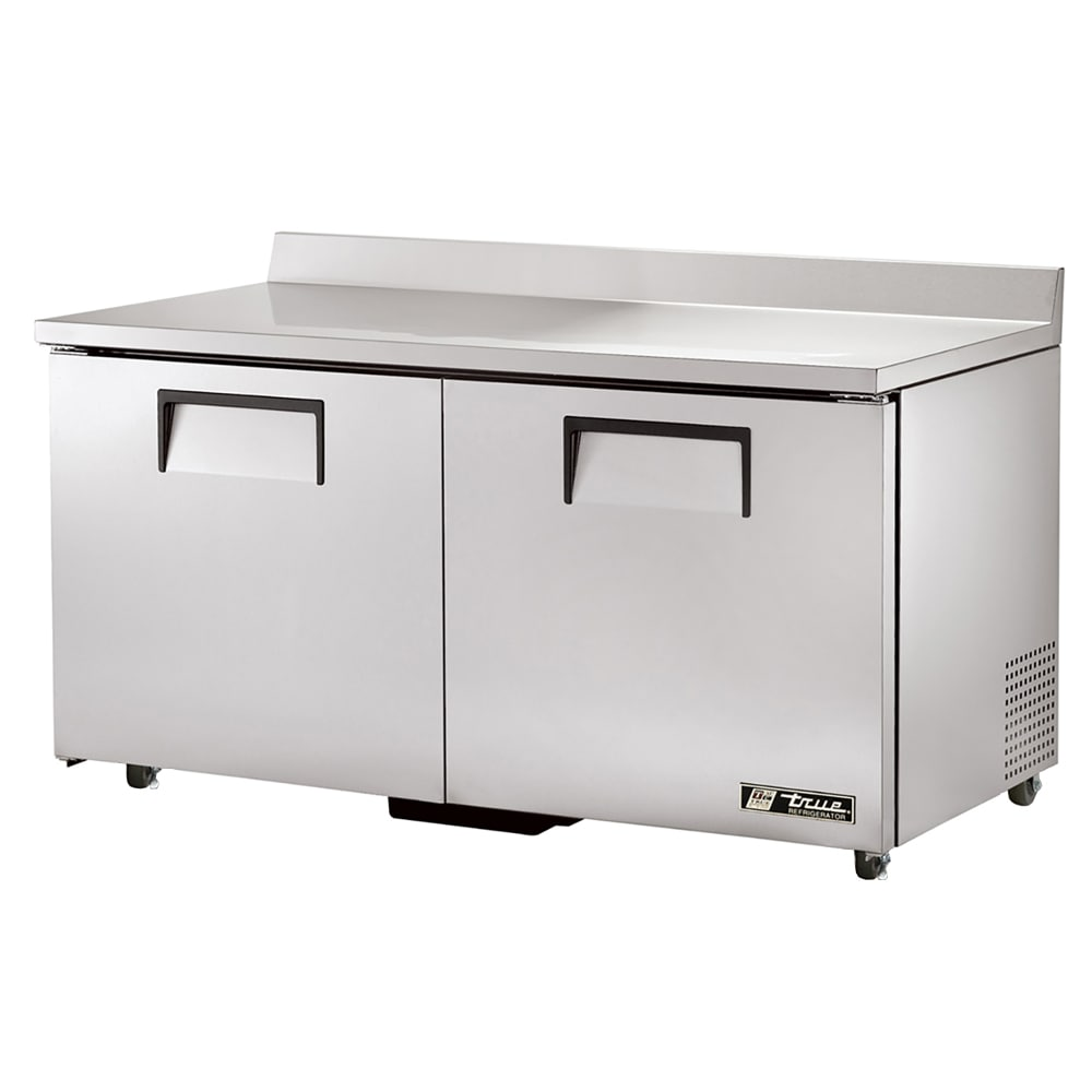 "True TWT-60-ADA-HC 60"" ADA-height Worktop Refrigerator w/ (2) Sections, 115V"