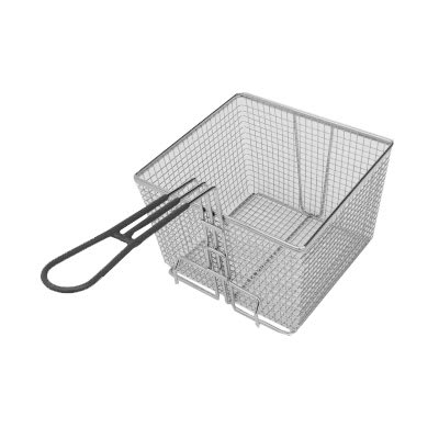 Globe BASKETLARGE1632 Full Size Fryer Basket, Steel