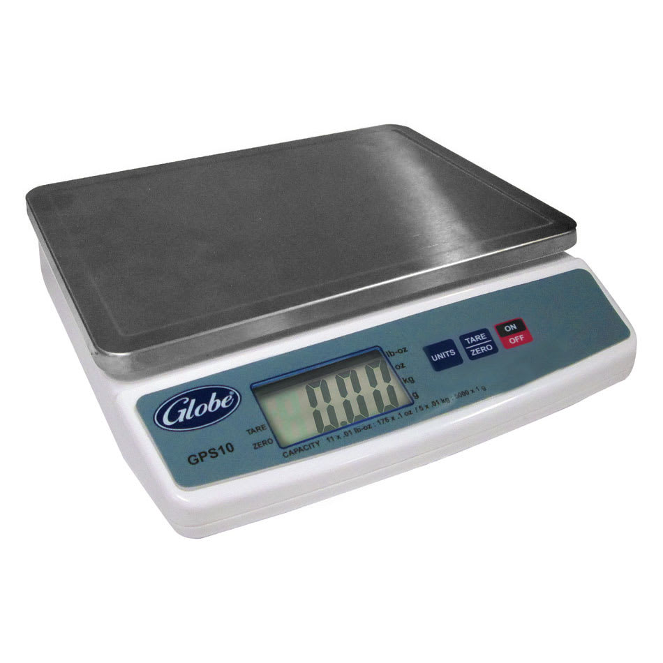 Globe GPS10 Digital Portion Control Scale w/ 10-lb Capacity, Auto Shut Off, 115v