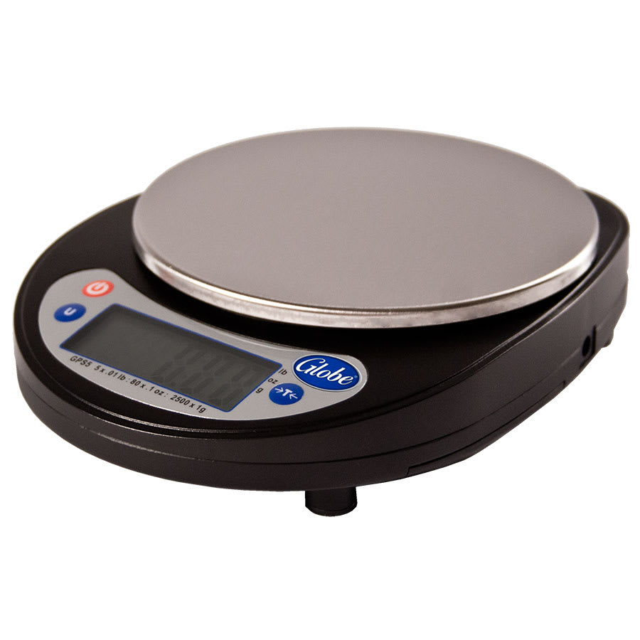 Globe GPS5 5-lb. Portion Control Scale w/ Ingredient Bowl
