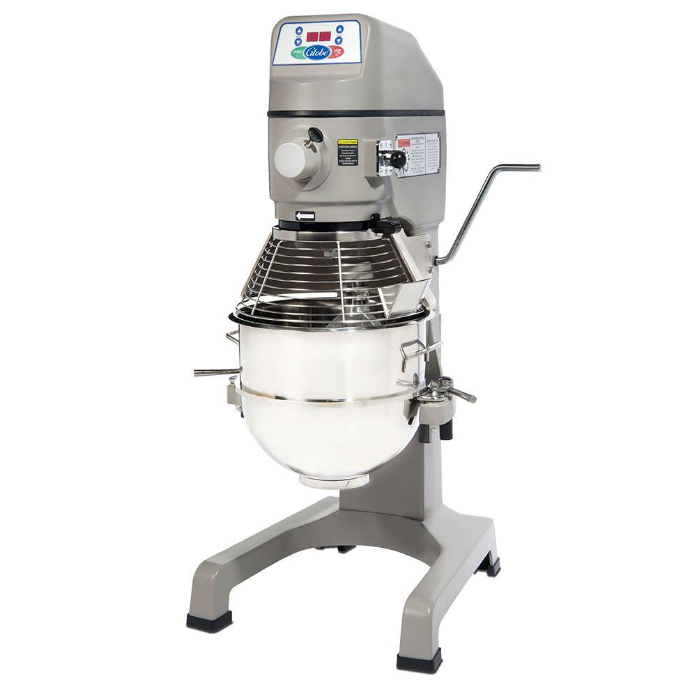Globe SP30 Floor Model Planetary Mixer w/ 30-qt Bowl, 3-Speeds, 115v